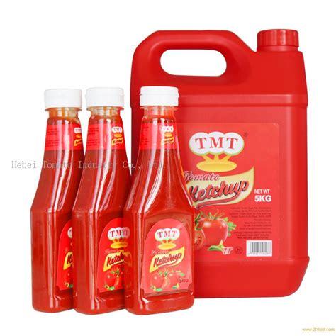 340g tomato ketchup in pladtic bottle for Lebanon market ...