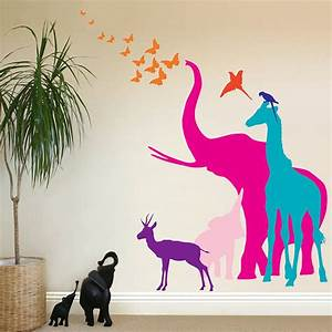 Creative stickers that make your wall look magical
