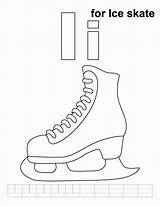 Ice Coloring Skating Skate Pages Skater Handwriting Practice Printable Library Popular Clipart Books Coloringhome sketch template