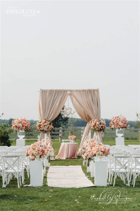 wedding ideas for ceremony decorations 12 gorgeous wedding ceremony decor ideas the magazine