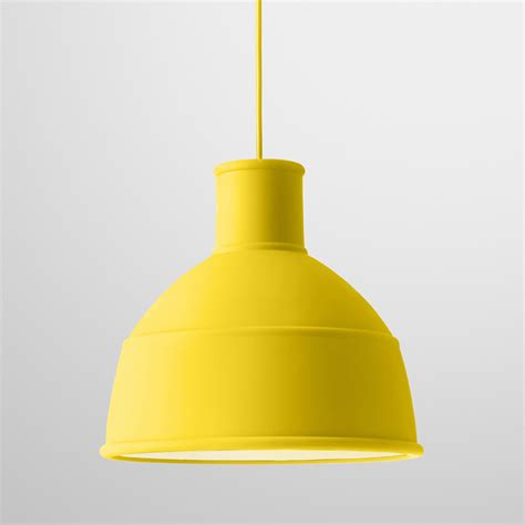 Suspension Unfold  Jaune  Muuto  Suspensions Design