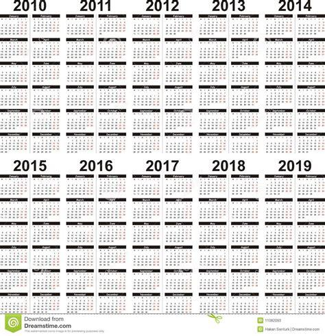 calendar stock vector image date