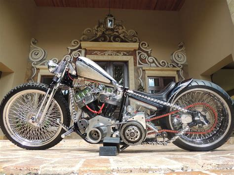 Bobber Chopper Custom Tuning Hot Rod Rod Rods Motorbike