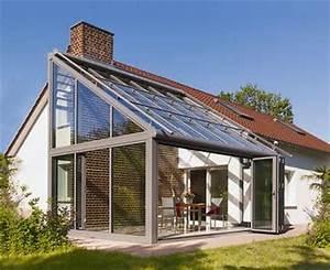 Wintergarten passend zum haus bild 3 living at home for Garten planen mit balkon zum wintergarten