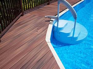 How To Frame A Deck Around A Pool - Round Designs