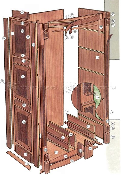 heirloom bookcase plans woodarchivist