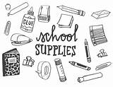 Supplies Coloring Pages List Printable Adults Print sketch template