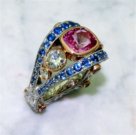 Pink Sapphire Rings and Jewelry - Elichai
