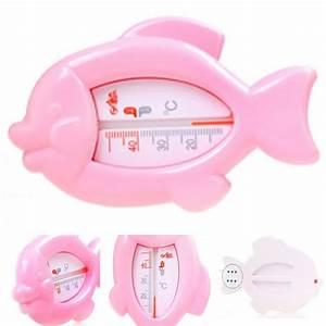 Kongkay de poisson bébé thermomètres pour le bain