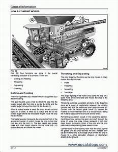 Massey Ferguson Rotary Combine 9695  9795 Workshop Manual