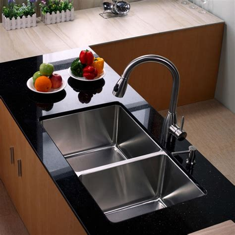 kitchen sinks what is best kitchen sink material homesfeed 7108