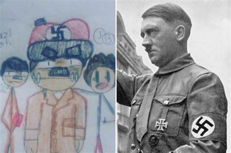 georgia parents shocked  kids asked  draw adolf