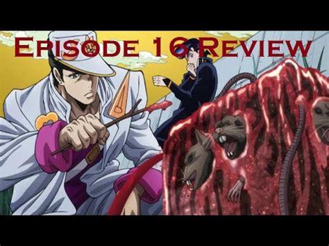 Jojos Adventure Is Unbreakable Episode 8 Review Jojo S Adventure Is Unbreakable Episode