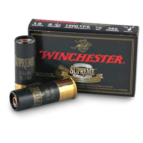 winchester supreme winchester supreme partition gold 20 3 quot 260 grain