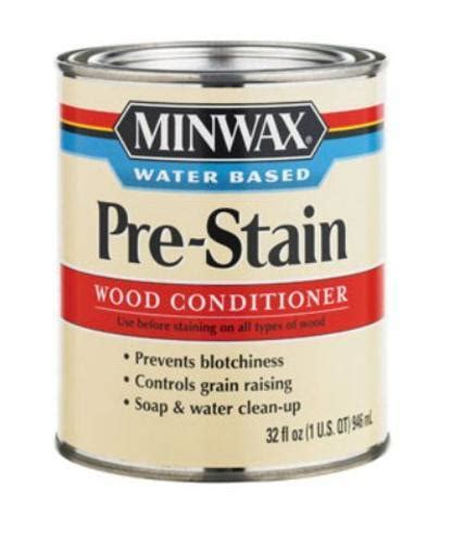 Minwax 61851 Waterbased Prestain Wood Conditioner, 1