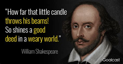William Shakespeare Quotes Shakespeare Quote On The Candle And Its Beam Goalcast