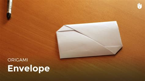 Enveloppe En Origami Origami Enveloppe Facile 224 Faire Hd