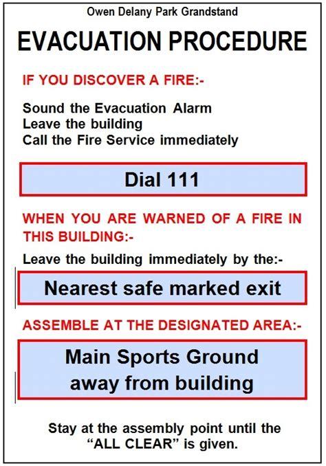 Evacuation Procedure Template Free by Emergency Evacuation Plan Template Nz Templates Resume