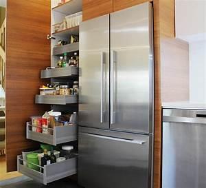 Garde Manger Cuisine : tablettes ou tiroirs dans le garde manger cogen b nisterie ~ Nature-et-papiers.com Idées de Décoration