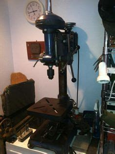 sears dunlap bench top drill press late  drill