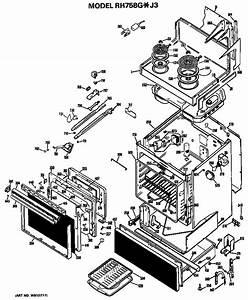Hotpoint Rh758g J3 Electric Range Parts