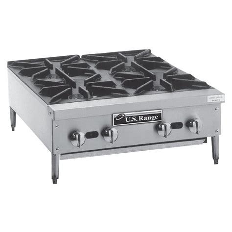 propane countertop stoves liquid propane garland gtog24 4 4 burner countertop range