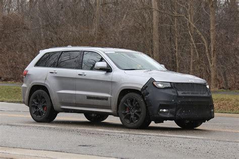 jeep grand cherokee hellcat latest spy shots gtspirit