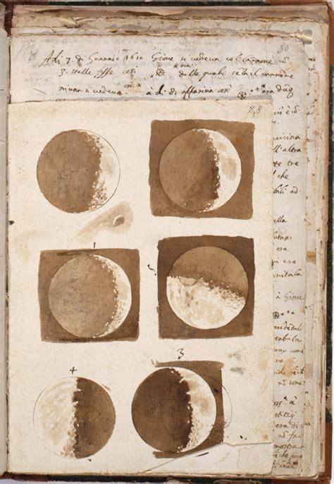 libreria nazionale firenze file galileo galilei disegni originali delle lune 1609