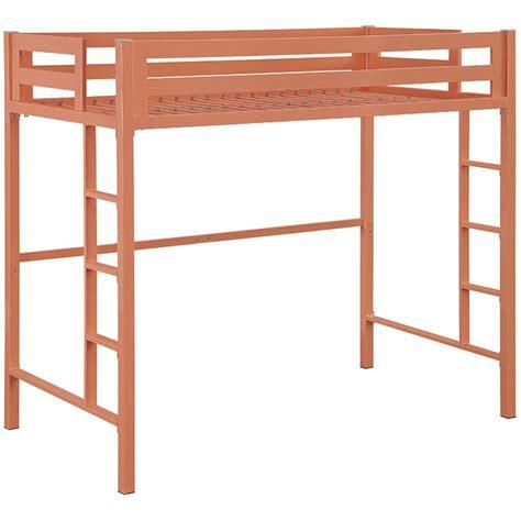 loft bed metal loft bed in bunk beds