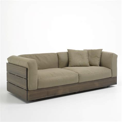 pallet sectional sofa contemporary garden sofa stave by piero lissoni