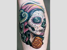 Totenkopf Tattoo Hand Frau Tattooart Hd
