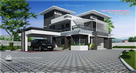 contemporary homes designs contemporary home design in 2491 sq kerala home