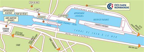plan du port de plaisance de ouistreham port de