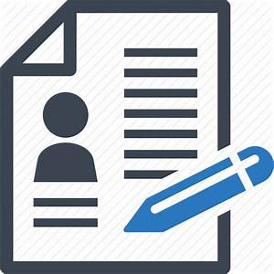 Contract, cv, document, file icon | Icon search engine