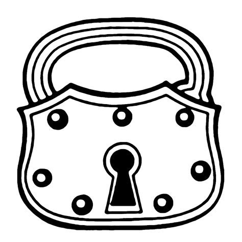 key clipart antique clip skeleton and lock the graphics