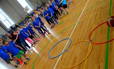 Sportland pirmie soļi basketbolā - Ogres sākumskola