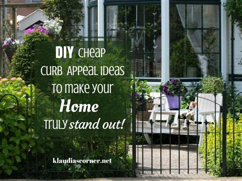 Diy Cheap Curb Appeal Ideas That Make Your Home Stand Out
