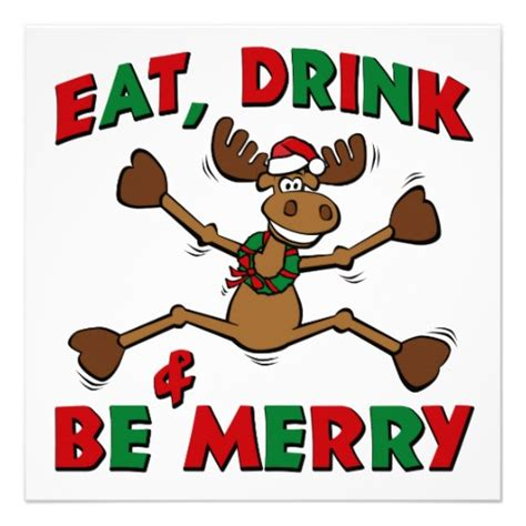 funny christmas party clipart 50