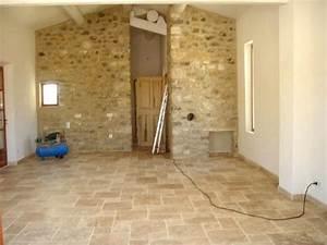 Photo interieur en travertin chaioscom for Photo de plan de maison 9 jerome claustrat claustrat creations