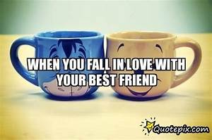 Friends Falling In Love Quotes. QuotesGram