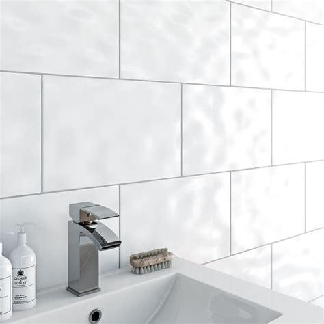 bumpy white bathroom tiles clarity bumpy white gloss tile 248mm x 398mm 1756