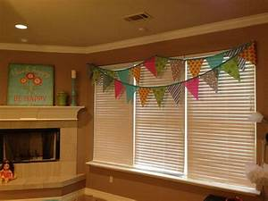 Girls Game Room Flag Banner Valance New House Ideas