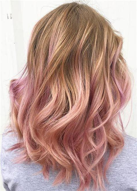 The 25 Best Pink Hair Highlights Ideas On Pinterest