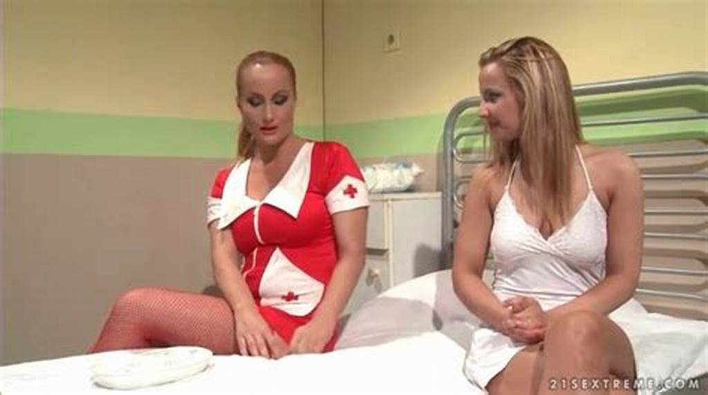 #Patient #In #Hospital #Tied #Up #By #Sexy #Nurse