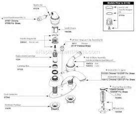 moen kitchen faucet diagram moen 4551cp parts list and diagram ereplacementparts