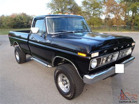 custom ford ranger 4x4 1976 ford f250 4x4 high boy ranger mild custom truck