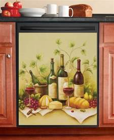 collections etc vineyard dishwasher magnet cover ebay