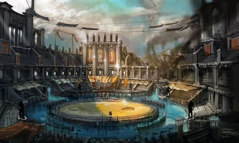 Permalink to Fantasy Arena Background