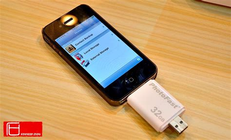 iphone memory photofast i flashdrive external memory card for iphone