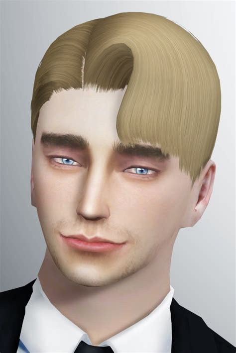 question mark hair  lonelyboy  happy life sims sims